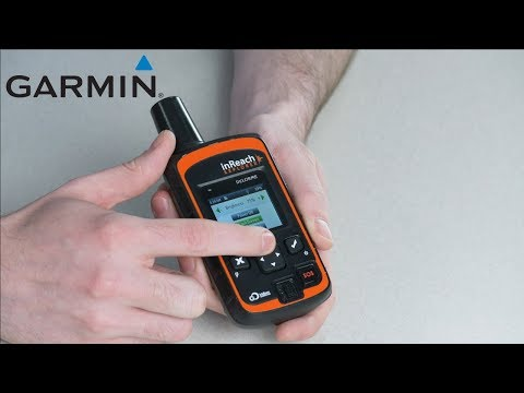 Support: Powering on a Garmin inReach® Device