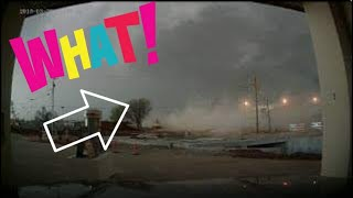 ALMOST DIED!!!!!! Caught in a tornado