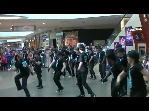Rock City Dance performance with Misha Gabriel for Step Up Revolution at South Park Mall