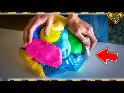 Will 25 LBS of SILLY PUTTY Bounce Like a Ball?