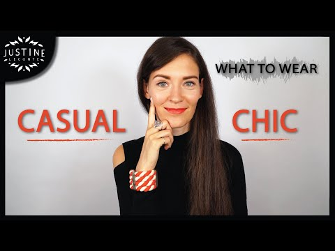 "Video: How to add some ""chic"" to a casual outfit ǀ What to wear ǀ Justine Leconte"