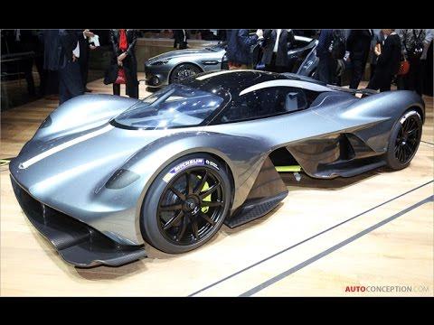 Car Design: 2017 Aston Martin 'Valkyrie' Prototype
