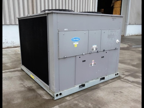 Used- Carrier Air Cooled Condensing Unit, 39.8 Tons - stock # 48339042