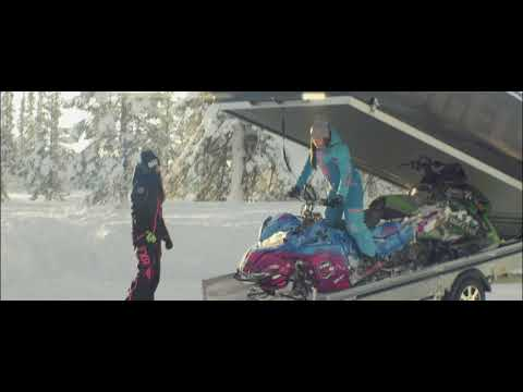 On the move - Snowmobile