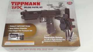 Пистолет Tippmann TiPX Trufeed  Deluxe Pistol Kit - Black