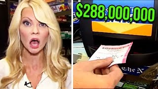 Couple Win $288M Powerball Lottery, But When They Go To Claim The Money...