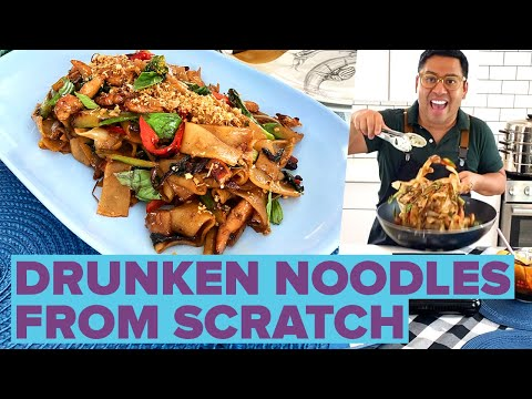 How To Make Thai Drunken Noodles At Home ? Tasty
