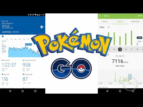 5 Fitness Gadgets You Can Use While Playing Pokemon Go