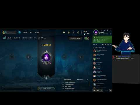 league of legends.. chilling with aram games