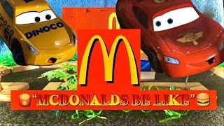 Disney's Pixar's Cars: Ordering McDonalds Be Like🍔 (13+)