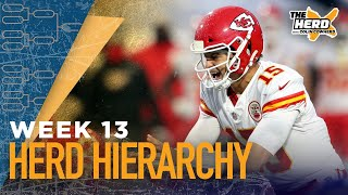 Herd Hierarchy: Colin Cowherd's Top 10 NFL teams heading into Week 13 | NFL | THE HERD