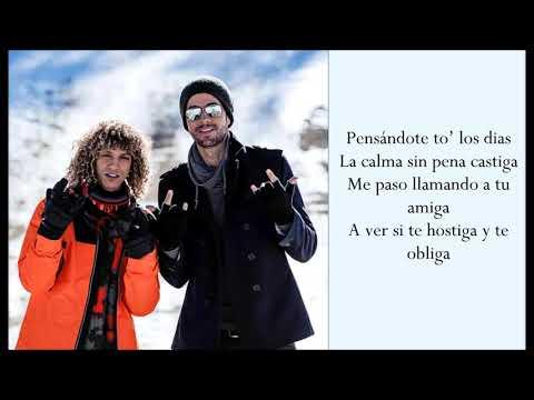 Después Que Te Perdí ft. Enrique Iglesias - Jon Z - (Lyrics)