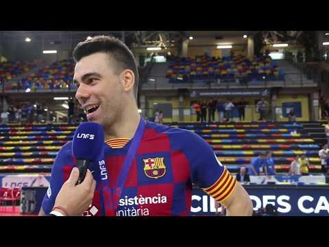Supercopa de España 2019: Sergio Lozano (Barça)