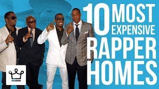 Top 10 Most Expensive Rapper Homes