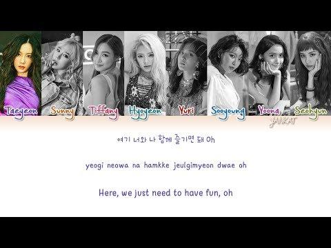 Girls' Generation (소녀시대) Holiday - (Color Coded Han Rom Eng Lyrics)   by Yankat
