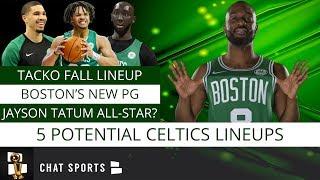 5 Boston Celtics Lineups We Need To See During The 2019-20 NBA Season