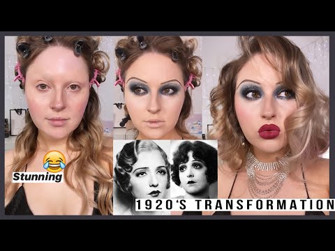 *new decades series* ? 1920s Makeup Look ? i can't deal with this lol