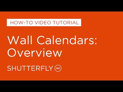 Wall Calendars: Overview