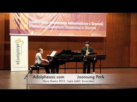 Joonsung Park - Nova Gorica 2013 - Lojze Lebič: Invocation