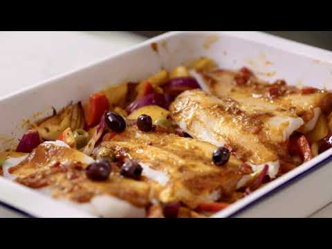 marksandspencer.com & Marks and Spencer Promo Code video: M&S | Cook With... Moroccan Baked Cod