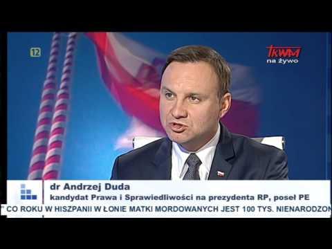 Rozmowy niedokończone z udziałem Andrzeja Dudy