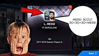 LIONEL MESSI SCOUT COMBINATIONS / PES 2019 MOBILE