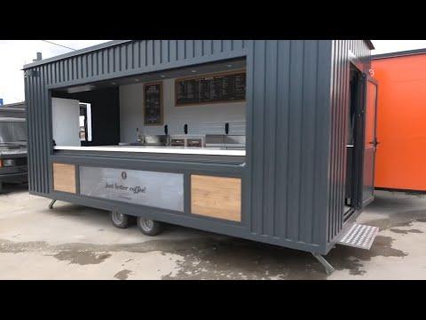 Coffee bar trailer - Ρυμουλκούμενη καντίνα καφέ μπαρ