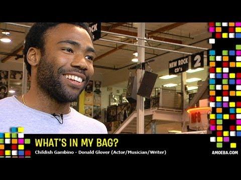 Childish Gambino (Donald Glover) - What's In My Bag?