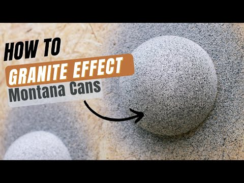 Montana Gold EG8000 Brown Granite Effect Spray Paint - 400ml