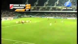 Paraguay 7 Hong Kong 0 Amistoso Internacional 2010