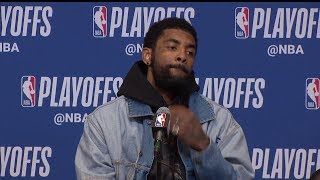 Kyrie Irving Postgame Interview - Game 2 | Celtics vs Bucks | 2019 NBA Playoffs