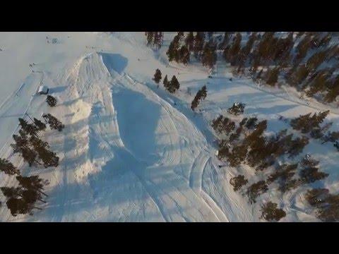 Nu bygger vi Skicross-banan 2016