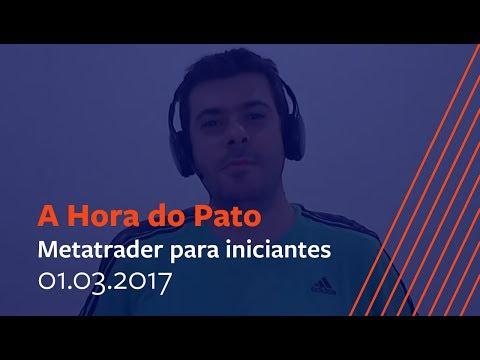 Metatrader para iniciantes - 01 de Março de 2017.
