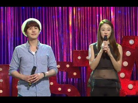 [라스 미방분] 매력녀 최여진! 연하남 규현과 부르는 달콤한 올포유~ 20140709
