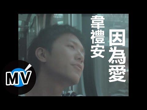 韋禮安 Weibird Wei - 因為愛 (官方版MV)