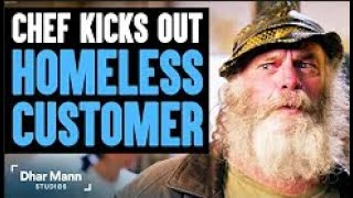 (Reaction) Chef Kicks Out Homeless Customer, What Happens Next Will Shock You   Dhar Mann