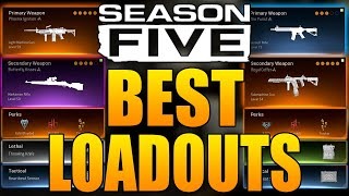 Call Of Duty Warzone: Top 5 Best Loadouts In Season 5 (Warzone Best Classes)