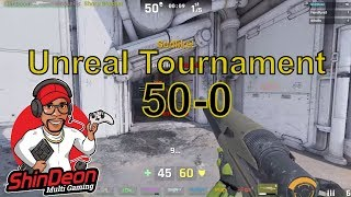 Unreal Tournament (50-0) gameplay godlike
