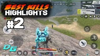 Best Kills Highlights #2 Rules of Survival Mobile