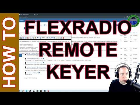 Ham Radio Remote Station - Remote Keyer Interface