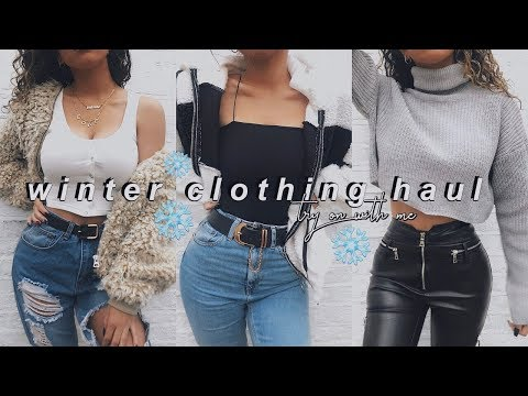 d2718a1b9e2e WINTER TRY ON CLOTHING HAUL - ASOS, MISSGUIDED, BOOHOO - Beauty and Make UP  Videos
