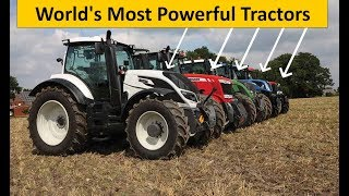 Top 5 most Powerful Tractors in the World