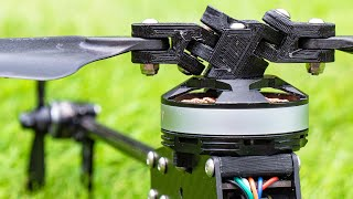 Drone Helicopter Hybrid