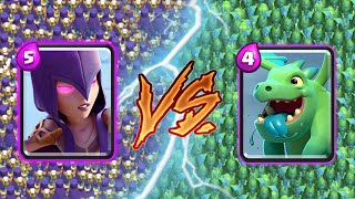WITCH VS BABY DRAGON - Clash Royale Challenge #259