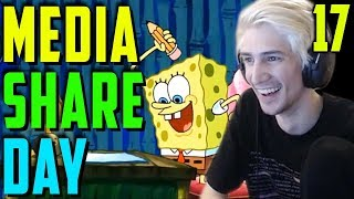 XQC MEDIA SHARE DAY #17 - Reacting to Viewer Suggested Videos