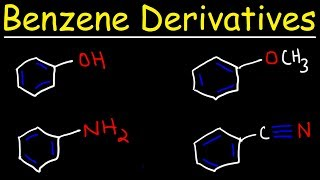 Naming Benzene Derivatives - Aromatic Compounds