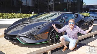 LAMBORGHINI SIAN DELIVERY! Unboxing the Hypercar Crate from Italy