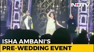 Watch: Nita Ambani Dances With Two Sons At Isha's Pre-Wedd..