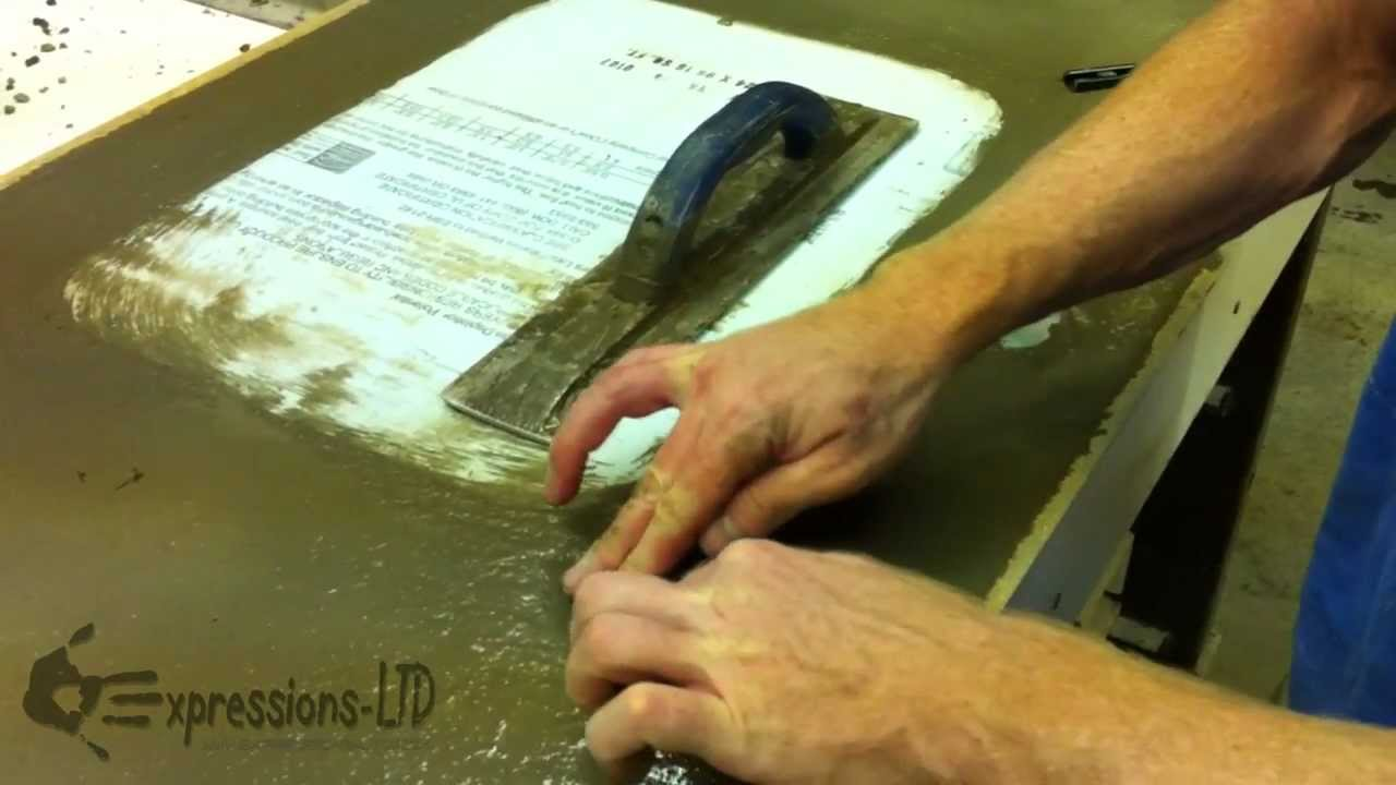 Using Concrete Countertop Undermount Sink Anchors Youtube