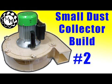 Building a blower small dust collector 2 phim sex hay for Harbor freight blower motor